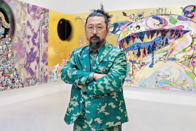 The Japanese pop painter premieres his new retrospective