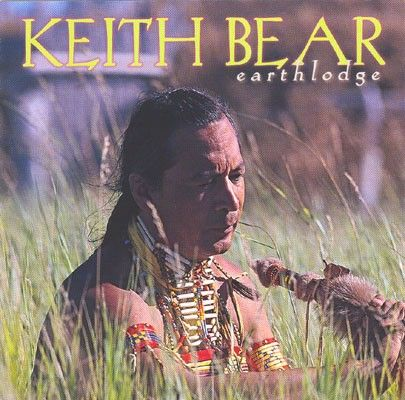 #Mandan-Hidatsa storyteller and #flute player, Keith Bear, shares songs of his people, recorded as they were first played, in a #Mandan earthlodge built on the plains of the Dakotas. #PrairieEdge
