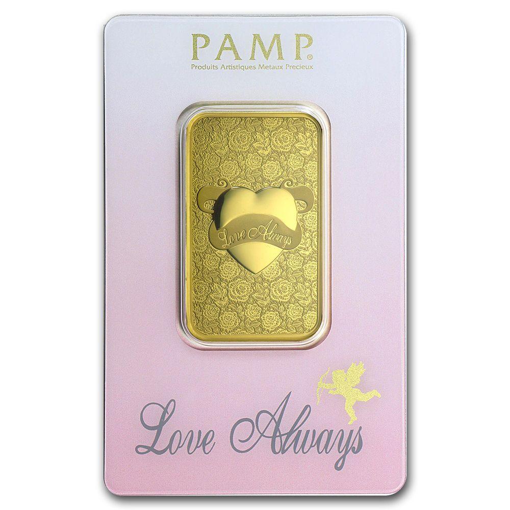 1 Oz Gold Bar Pamp Suisse Love Always In Assay Sku 92825 Gold Goldbar Gold Bars For Sale Gold Bar Love Always