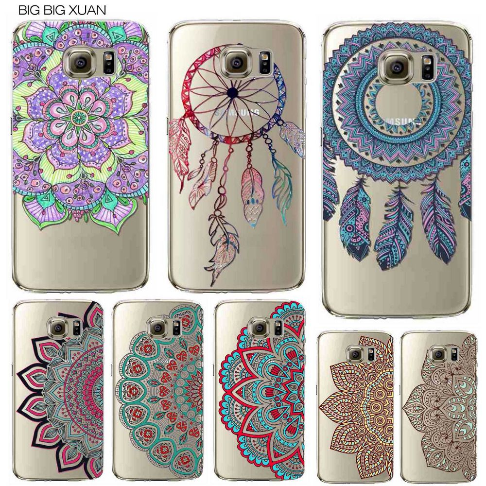 Floral Paisley Flower Mandala Henna Phone Case For Samsung Galaxy ...