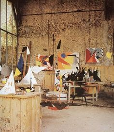 Alexander Calder Home and Studio..