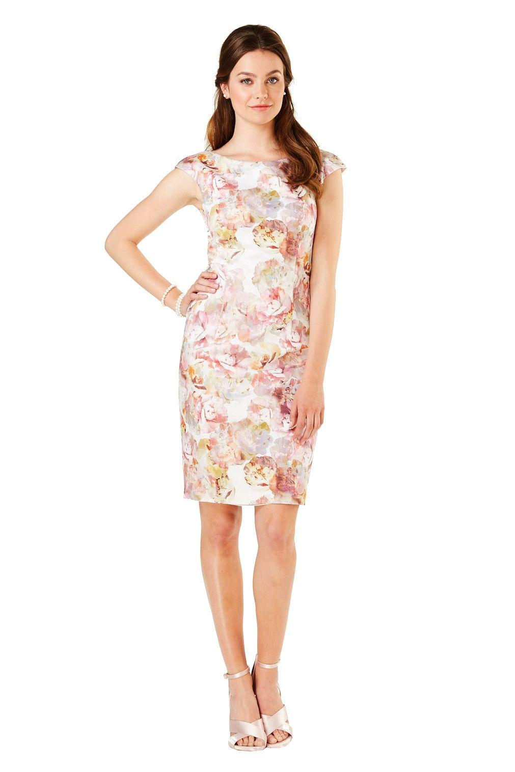 kleid blüten ivory rosa von weise | mode bösckens