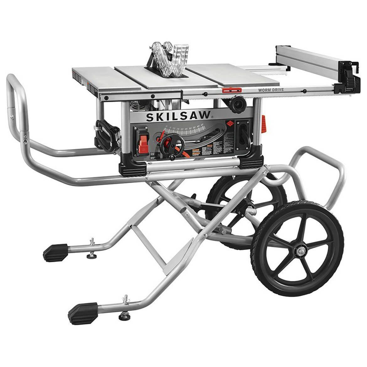 Skilsaw Spt99 11 10 In Heavy Duty Worm Drive Table Saw With Stand Skil Saw Best Table Saw Portable Table Saw