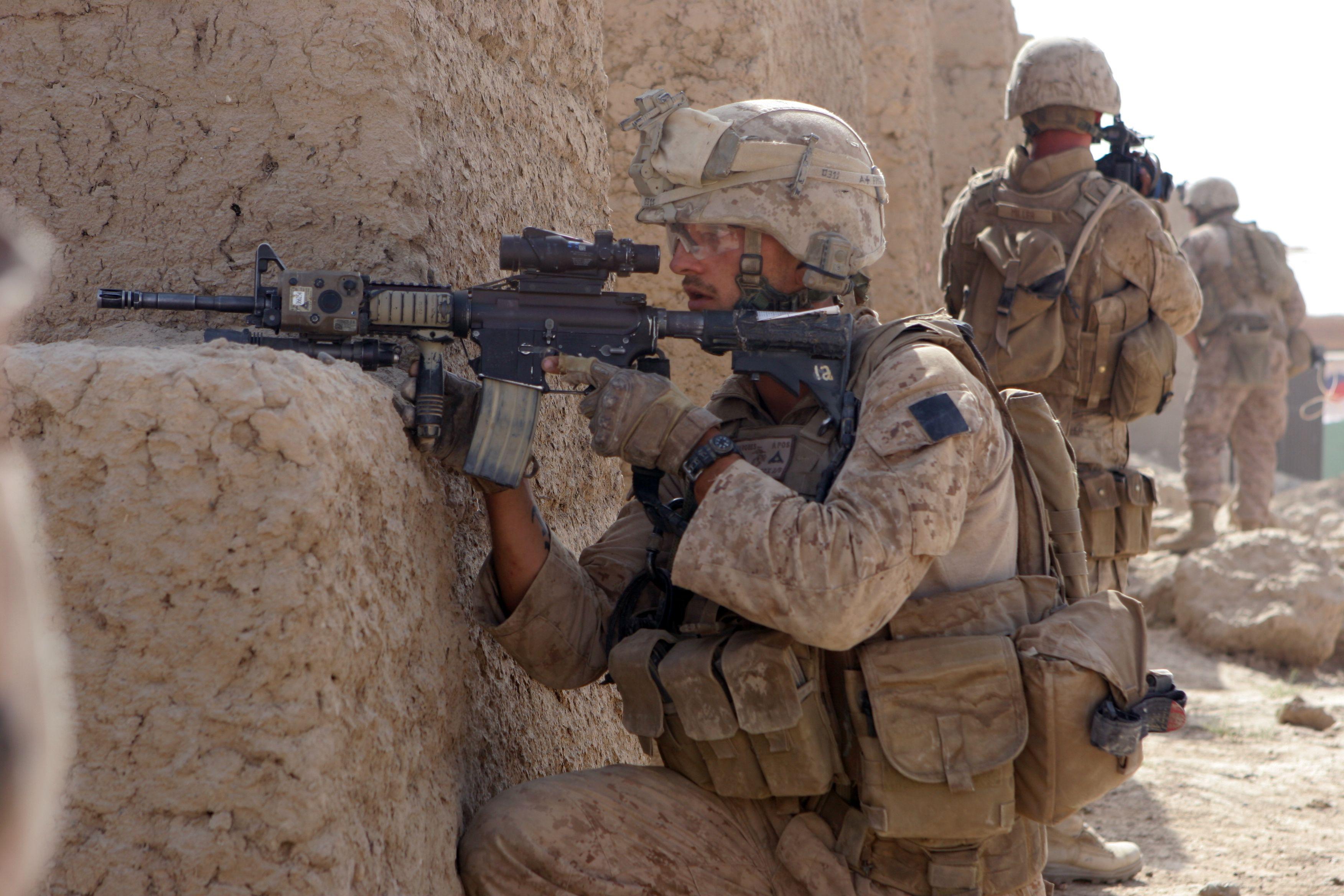 Us Marines In Afghanistan | Photos: Troops Continue Afghanistan ...