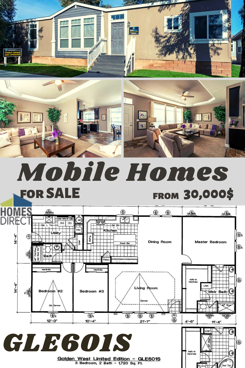 Gle601s In 2020 Home Mobile Homes For Sale Modular Homes