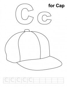 Letter C Coloring Pages Preschool And Kindergarten With Images