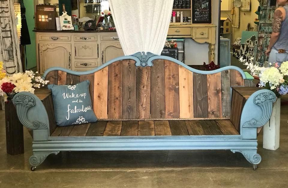 Headboard Couch Shabbychicbedrooms Recycled Furniture
