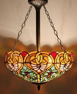 Bilbao tiffany ceiling light living room lighting pinterest bilbao tiffany lamps ceiling light shade information diameter 16 inch 40 cm material of shade glass standard fitting height max wattage 2 aloadofball Images