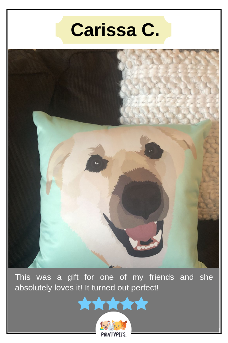 From Carissa C This Was A Gift For One Of My Friends And She Absolutely Loves It It Turned Out Perfect Print Custom Pet Art Animal Lover Happy Customers