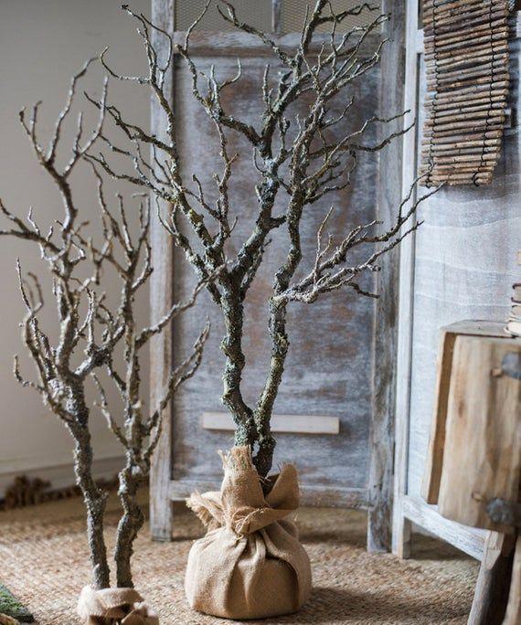 Künstliche dürren Baum #vintageweihnachten