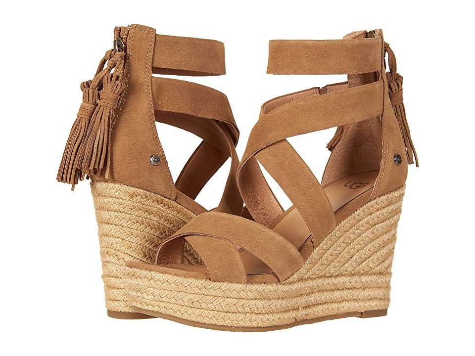 19117e6ad3f UGG Raquel (Chestnut) Women's Wedge Shoes. Get ready to feel ...