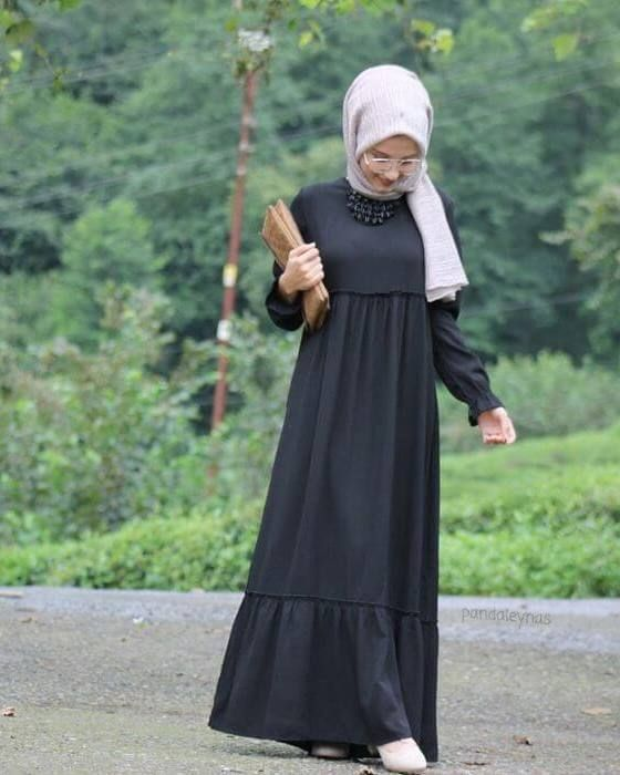 موديلات فساتين محجبات تركية للخروج 2016 Moslem Fashion Muslim Fashion Dress Muslimah Fashion Outfits