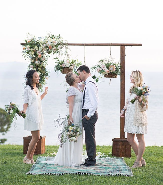 15 Outdoor Wedding Ideas That Are Totally Genius: Whimsical Boho Wedding Inspiration