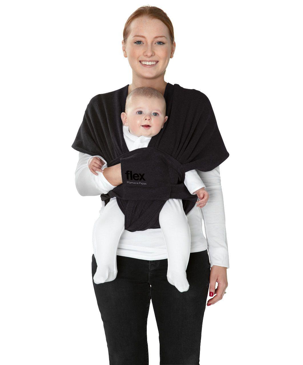 Flex Baby Sling S M Black Jack Slings Wraps Mamas Papas