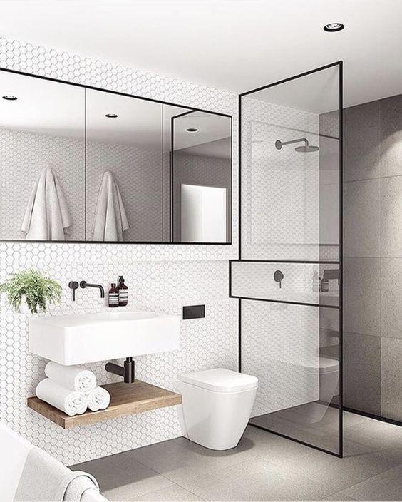 Framed Shower Screen