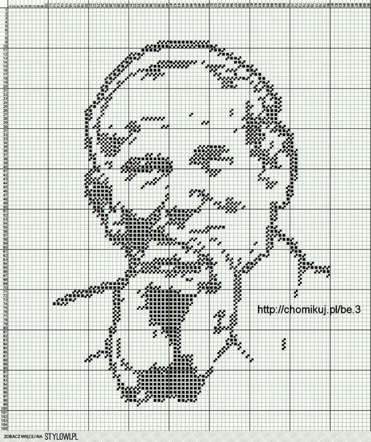 Diseños o gráficos a Ganchillo | punto de cruz | Pinterest ...