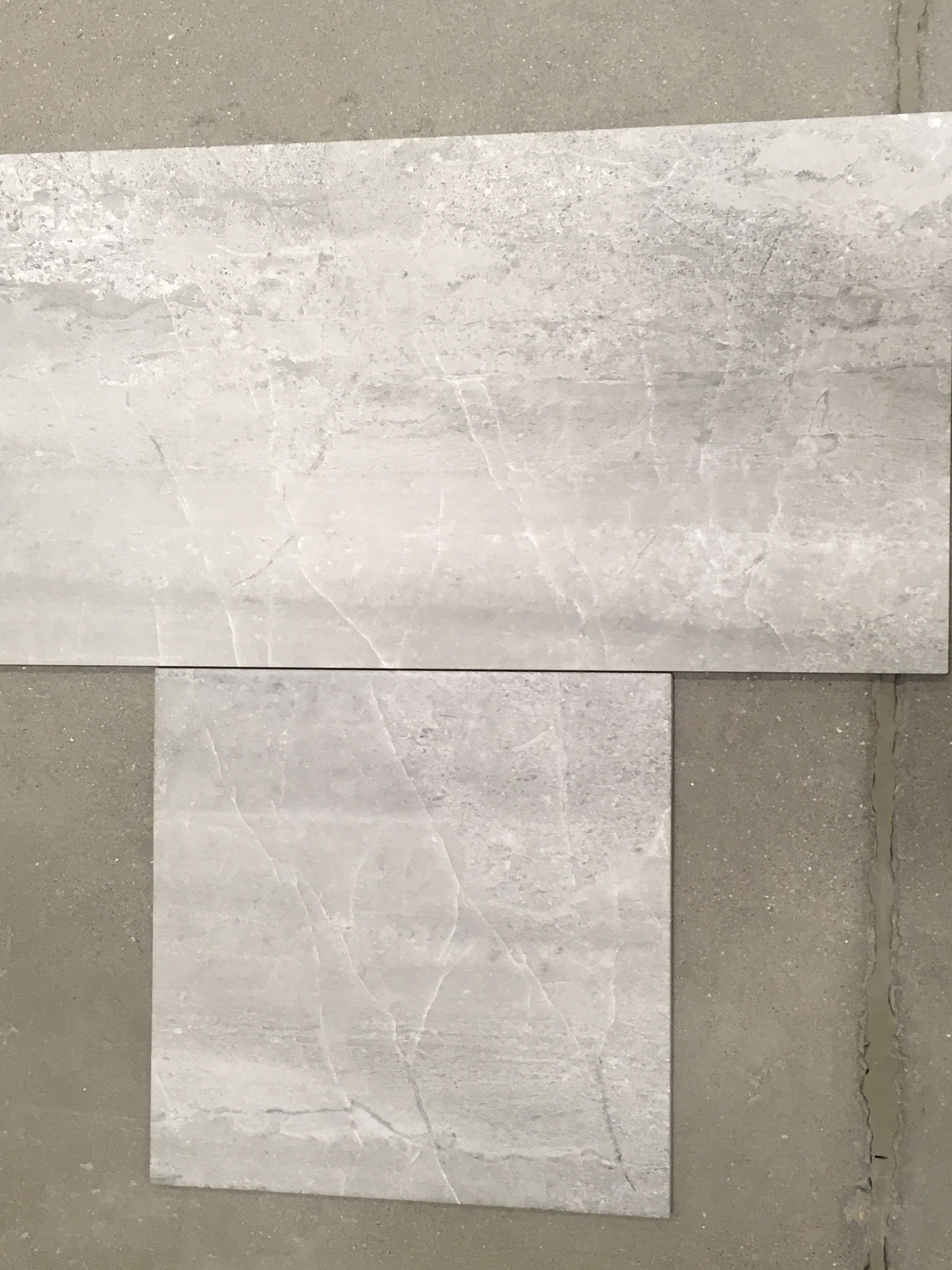 Skyros Grey Porcelain Tile From Lowes Suppose Square Tile Laid On