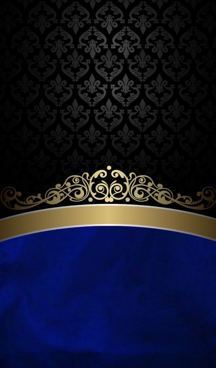 Blue and gold Phone wallpaper, Backgrounds phone