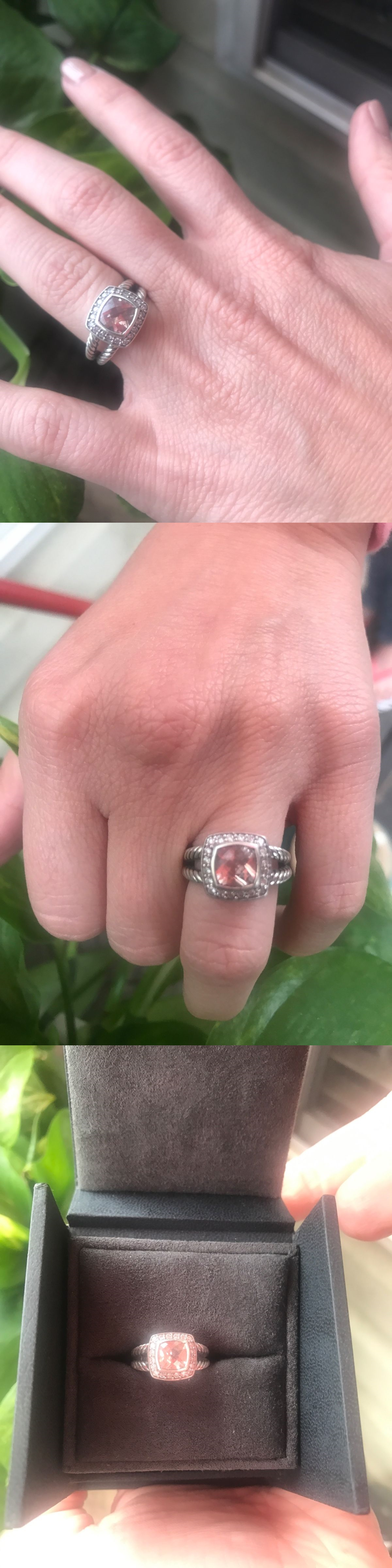 Precious Metal without Stones 164325: David Yurman Ring Size 4 ...