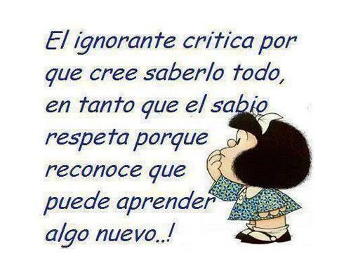 El ignorante. 88166a00b87b8efb4a7982ed9715257f