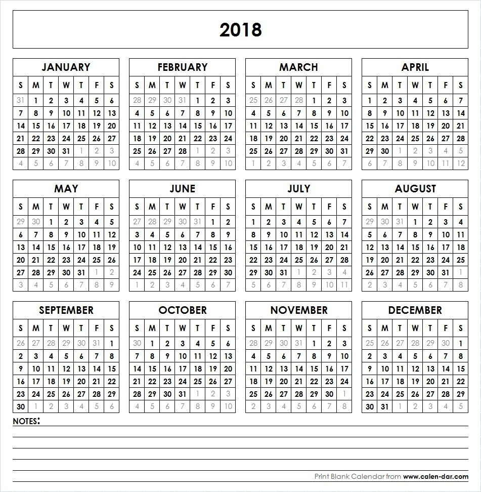 Get free blank template of year 2018 printable calendar these get free blank template of year 2018 printable calendar these editable printable calendar 2018 pages saigontimesfo