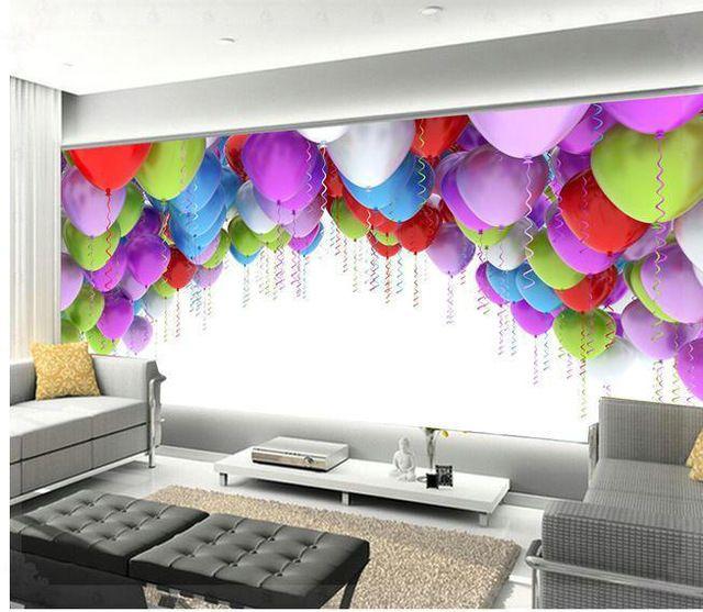 Aliexpress Com Beli Baru Besar Wallpaper Wallpaper Kustom Ruang Wallpaper Home Decor Decals Decor