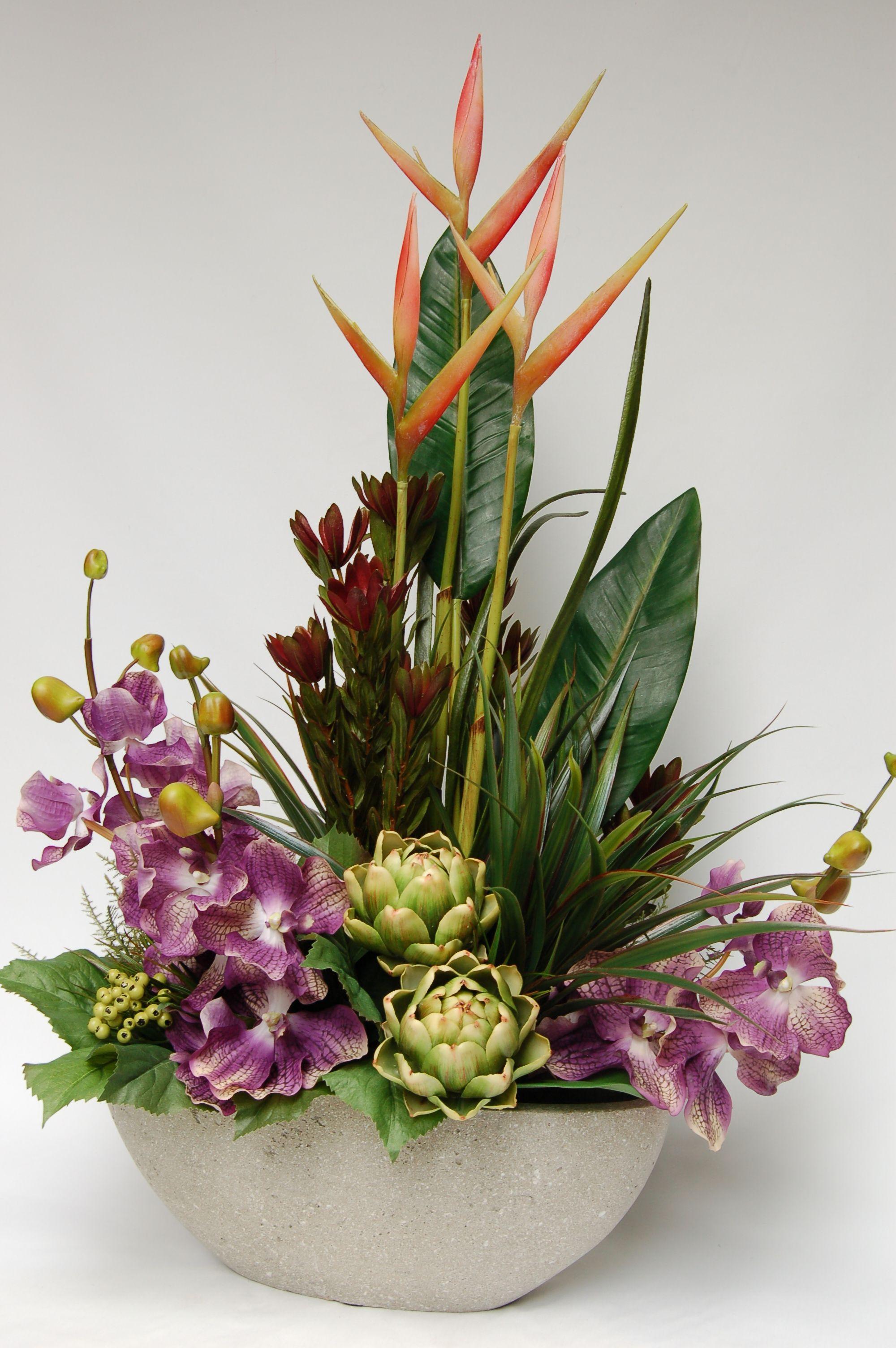 Beautiful Faux Flower Arrangements For Your Inspiration Artificial