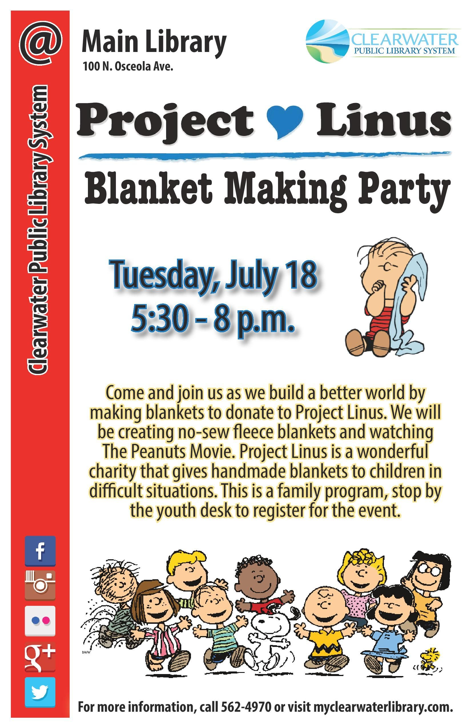 Come And Join Us As We Build A Better World By Making Blankets To