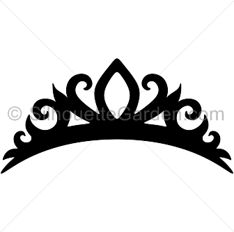 Tiara silhouette clip art. Download free versions of the image in ...