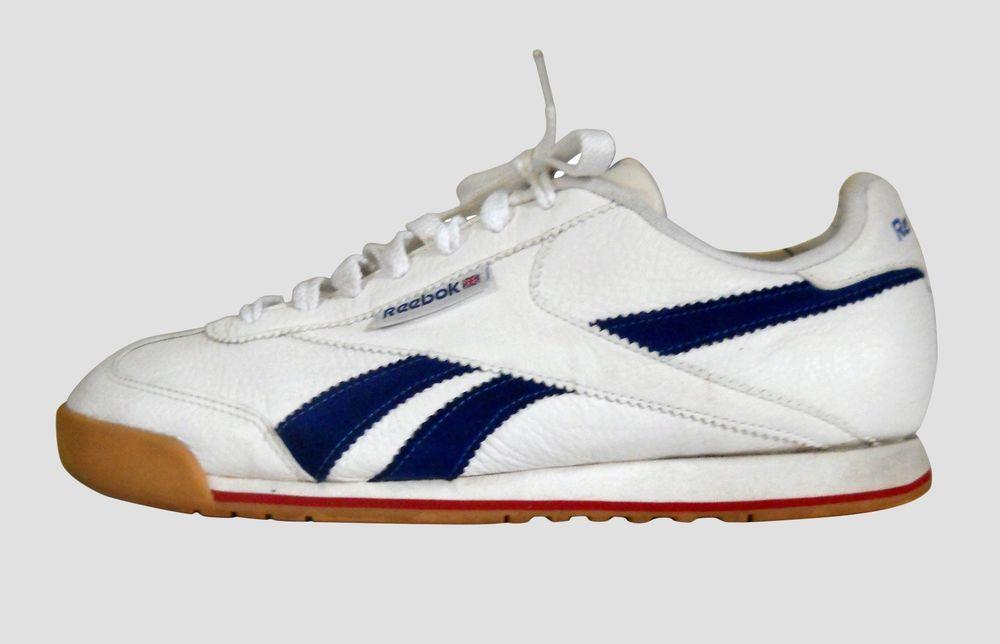 23975e28d55623 Reebok Classic SuperCourt 10.5 White Sneaker Trainer Blue T Shoe 6-104380  Men 44  Reebok  AthleticSneakers