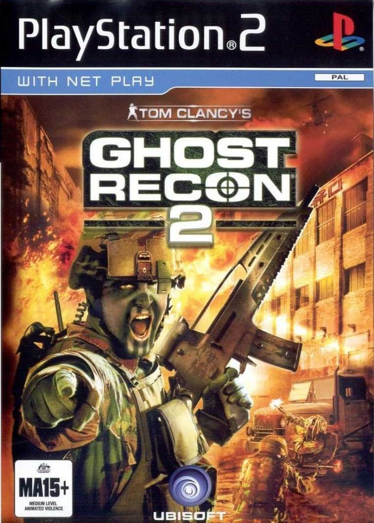 Tom Clancy S Ghost Recon 2 Tom Clancy Ghost Recon Ghost Recon 2