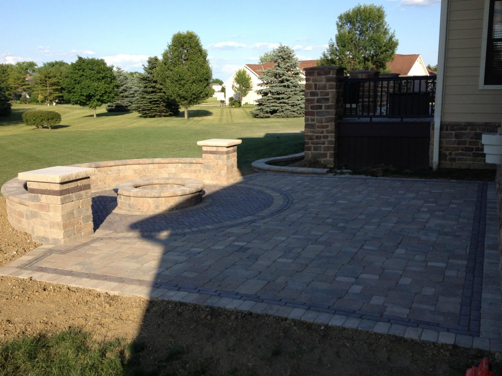 Covered Paved Patios