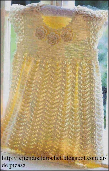 Pin de Patricia Anaya Pineda en vestidos niña | Pinterest | Bebé ...