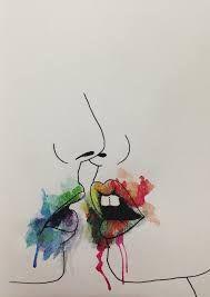 Resultado De Imagen Para Dibujos Con Acuarelas Tumblr Dibujos
