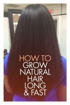 How I Grew Healthier Fuller Longer Hair With All Natural