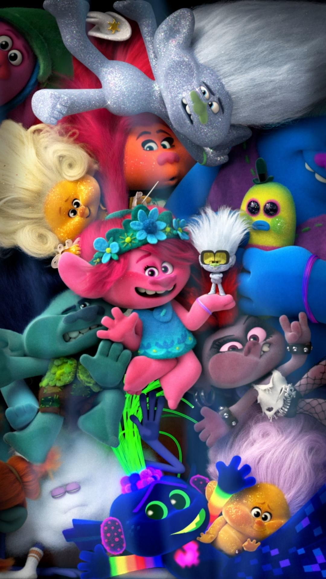 Watch Trollsworldtour With Double The Trolls And Double The Fun Video Trolls Birthday Party Cute Cartoon Wallpapers Cartoon Wallpaper