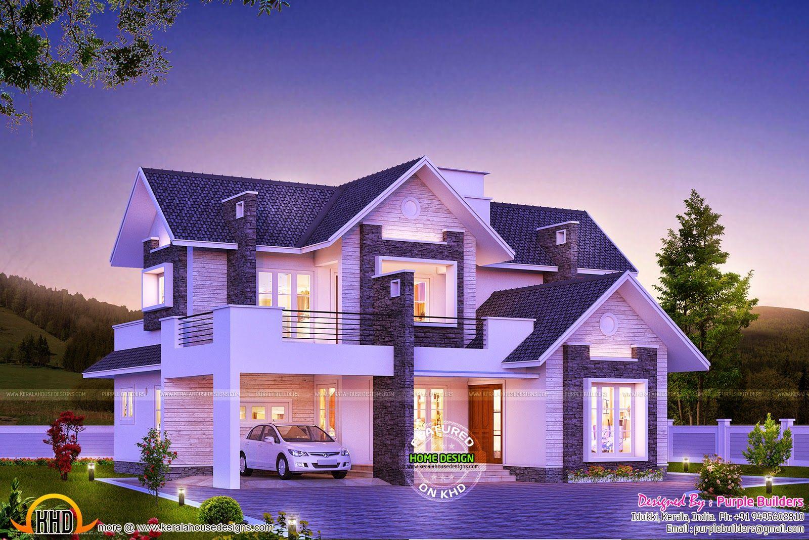 Super Dream Home Home Ideas Duplex House Design Kerala