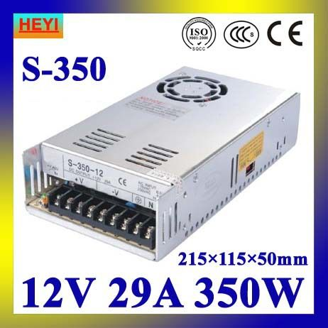 Led Power Supply 12v 29a 100 120v 200 240v Ac Input Single Output Switching Power Supply 350w Electronic Supplies Led Power Supply Led Strip Lighting