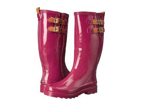 Chooka Top Solid Rain Boot Garnet - Zappos.com Free Shipping BOTH Ways
