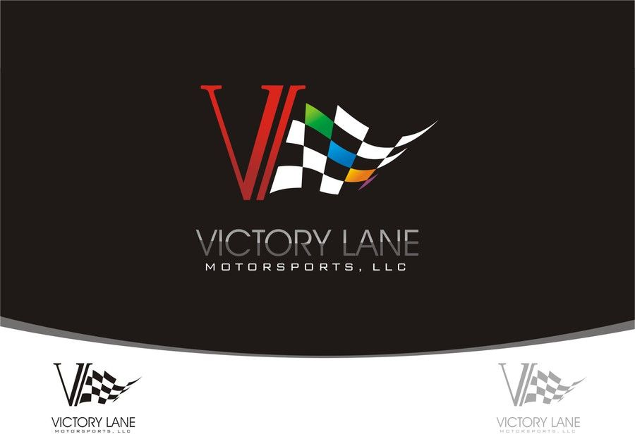 logo for Victory Lane Motorsports,LLC by PAWIRO SENTONO | Design ...