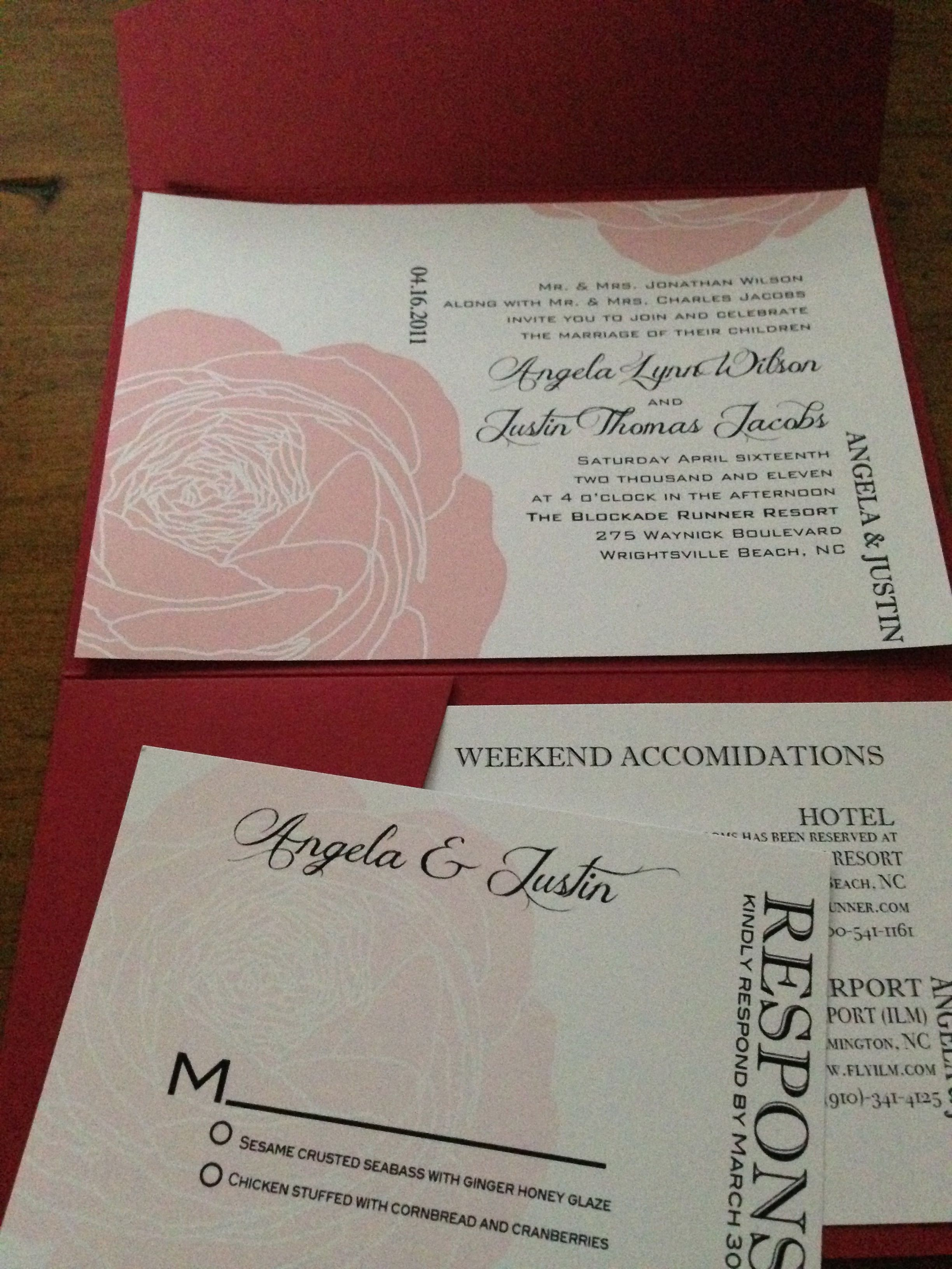 Looking for a modern take on Wedding Invitations? Check out these ...