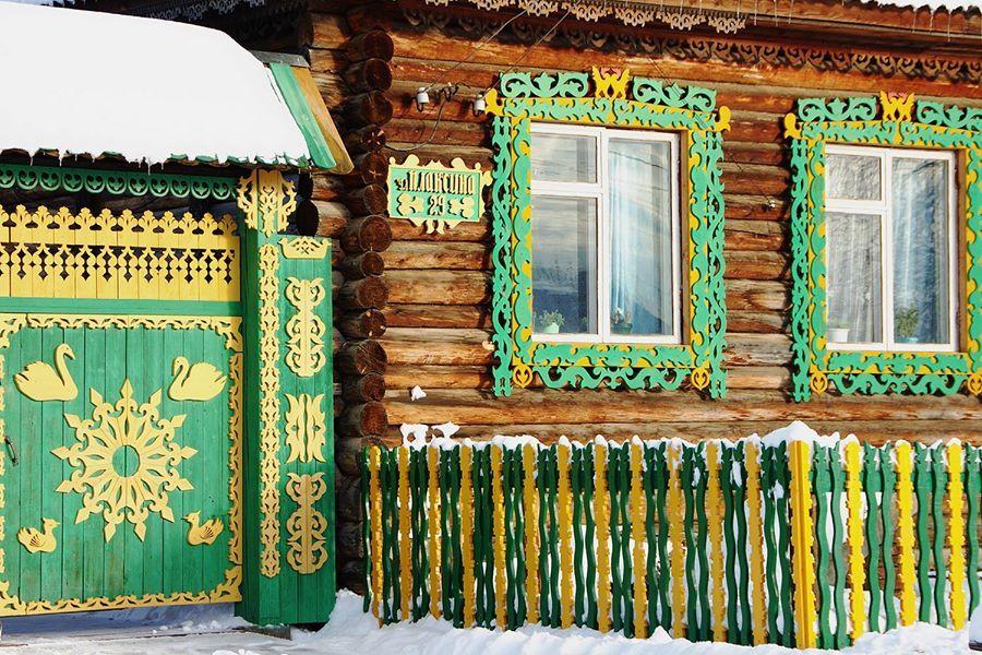 Woodcarver's House. Vsevolodo-Blagodatskoe village, Sverdlovsk region. - Russia Photographer Sergey Petrov