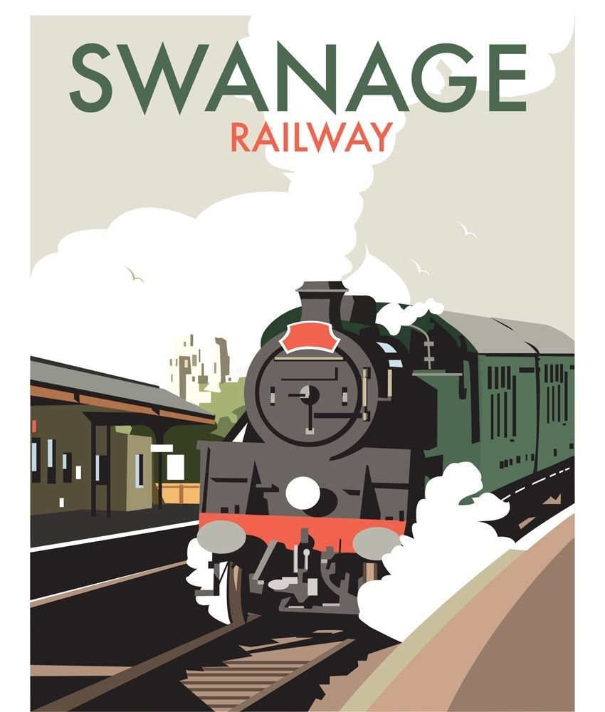 Thompson Travel Uk: Old London Railway Posters