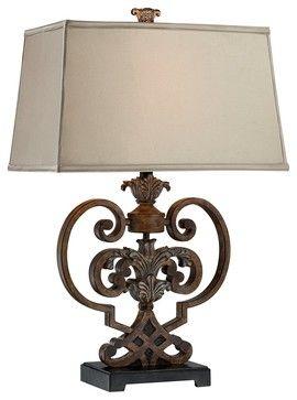 Traditional possini metal scroll heart table lamp traditional traditional possini metal scroll heart table lamp traditional table lamps by lamps aloadofball Gallery