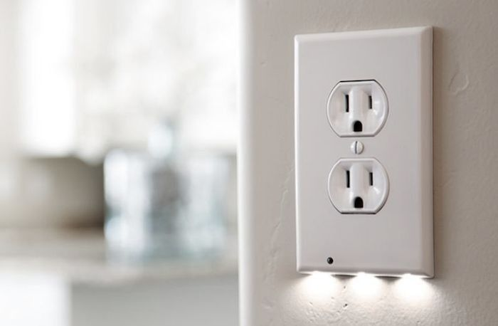 The night light reconsidered electrical outlet covers the night light reconsidered night lightselectrical outlet mozeypictures Gallery