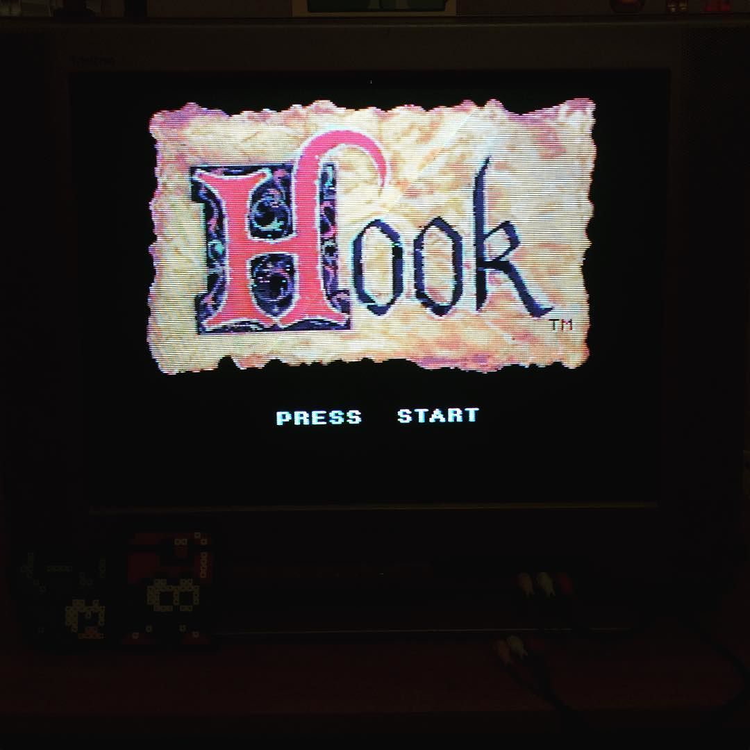 On instagram by retro_cod #supernintendo #microhobbit (o) http://ift.tt/1SXeIWg one of my all time favorite games growing up #hook #snes  #nintendo #nintendolife #retrogamer #retrocollective #retrocollectiveus #collector #gameroom #mancave #chillin #gametime #peterpan #sony #trinitron #crt
