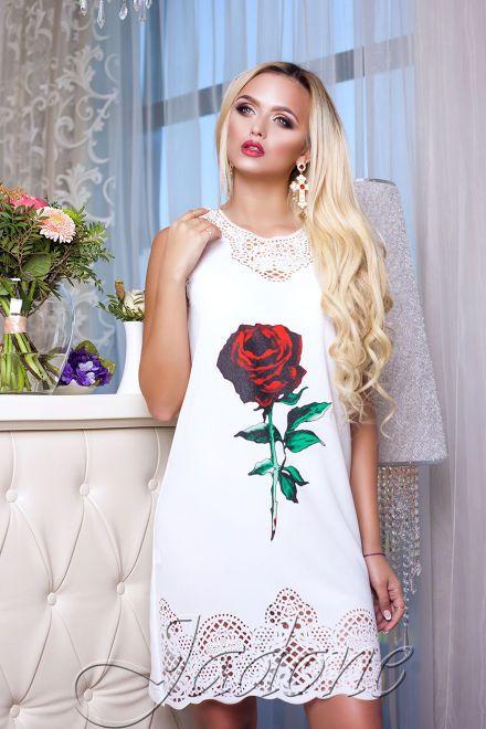 Недорого! Туникa «Нежность» молочный по низкой цене от Jadone Fashion купить в Украине! Быстрая доставка по СНГ и в Россию