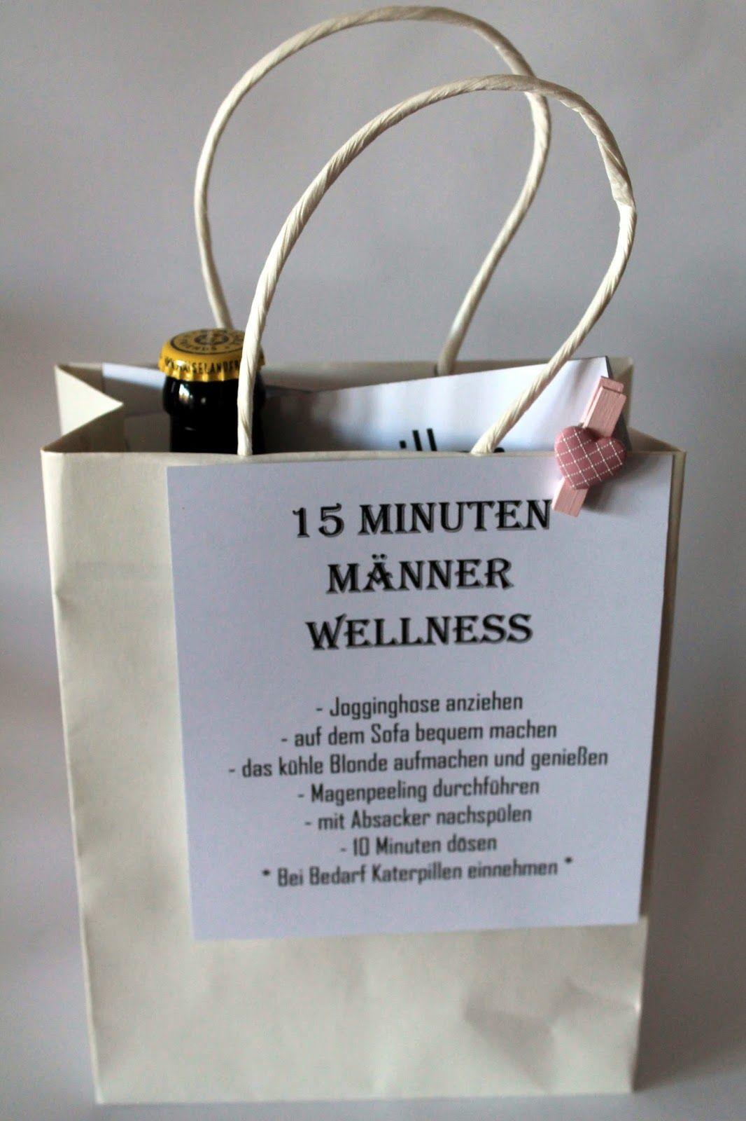 DIY 15 Minuten Männer Wellness   projects   Pinterest   Geschenke ...