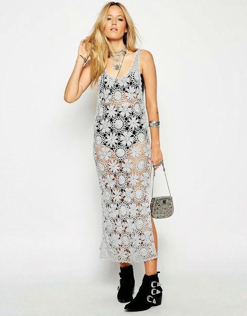 Ivelise Feito à Mão: Linda Inspiração De Vestido By Asos