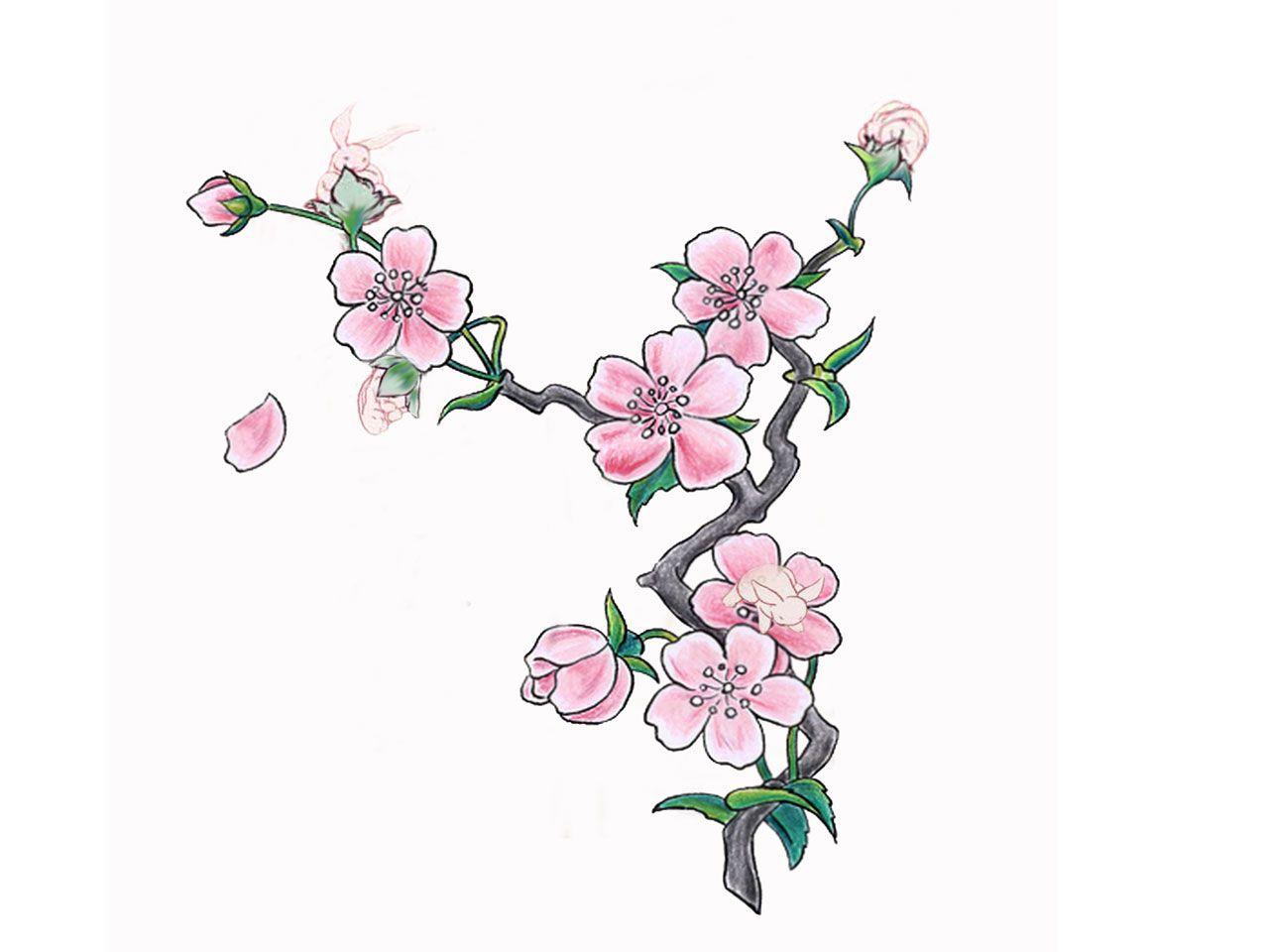 Cherry Blossom Tattoo Google Search Tree Tattoo Designs Flower Tattoo Designs Blossom Tattoo